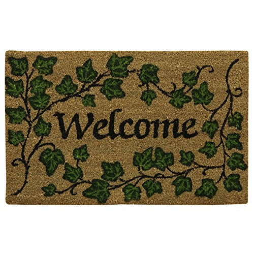 Ivy Printed - Bacova Guild English Ivy Welcome Printed Coir Mat