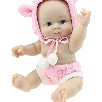 Moda suave renace nutrir Niña muñeca encantadora llena de vinilo de silicona de 8 pulgadas táctil
