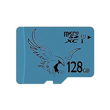 BRAVEEAGLE Tarjeta Micro SD 128GB Clase 10 U1 Tarjeta microSDXC ...