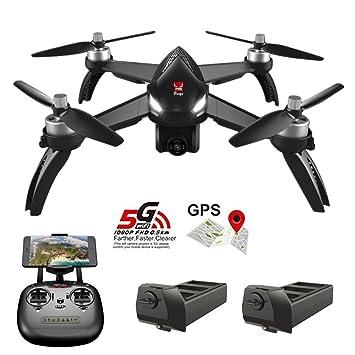 B5W RC Drone Quadrocopter Hubschrauber 1080P WiFi+Kamera+2Battery MJX Bugs 5W