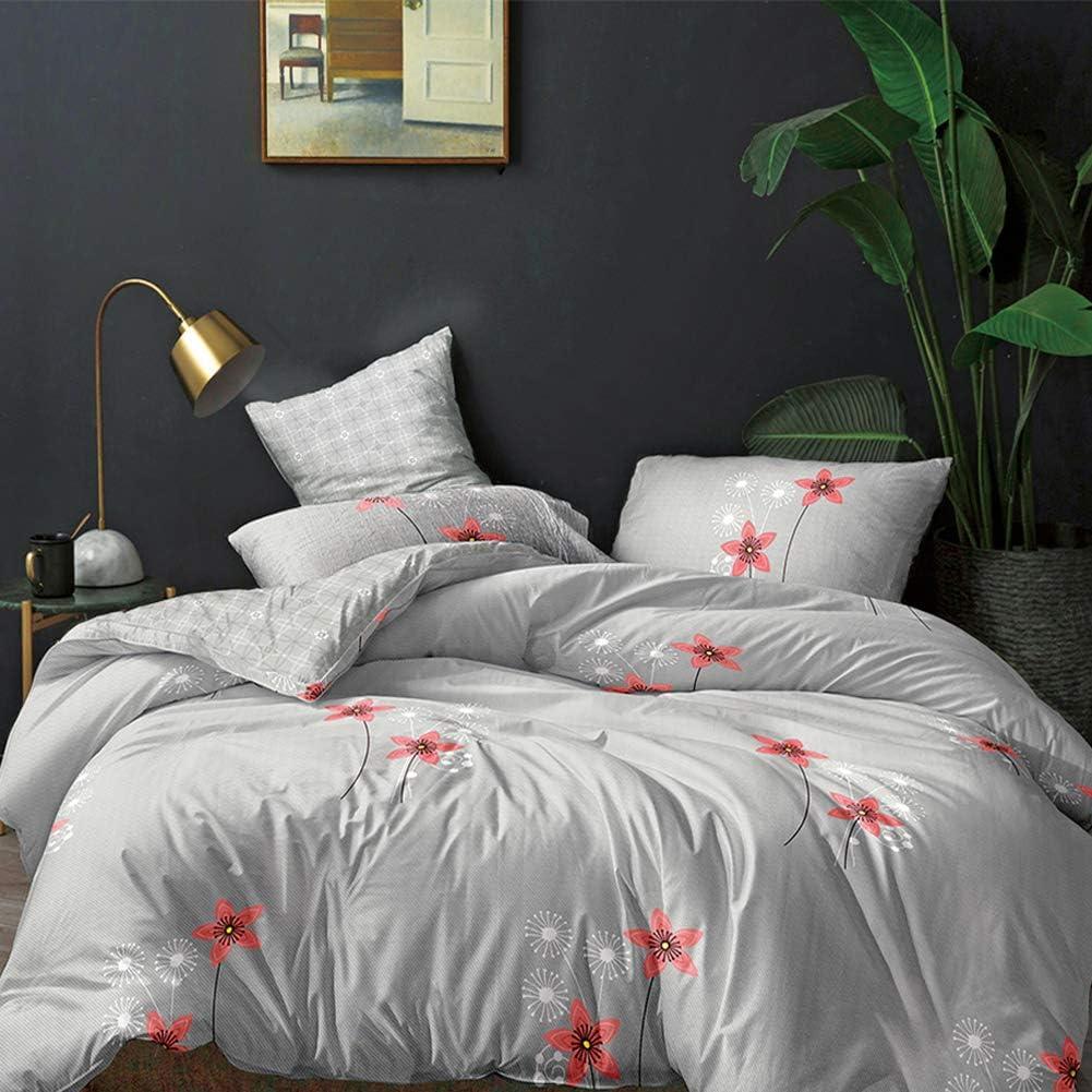 EBEIZZI Bohemian Duvet Cover 3 Pieces Mandala Hippie Boho Bed Spreads Black Bed Sets Twin Moonlight Bedding for Men&Women&Girls