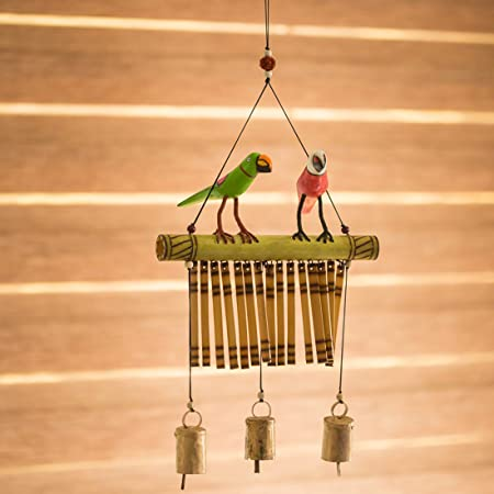 ExclusiveLane Hanging Wind Chimes Wall Hanging, Wall Décor - Home Decor/Gift Items