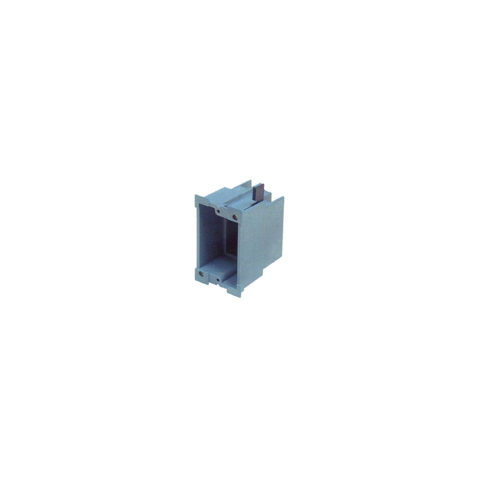 Carlon Lamson & Sessons BH118R SuperBlue™ Hard Shell Single Gang Old Work Box