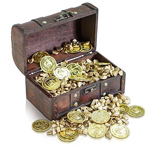 Brynnberg Cofre del Tesoro Pirata para Almacenamiento ...