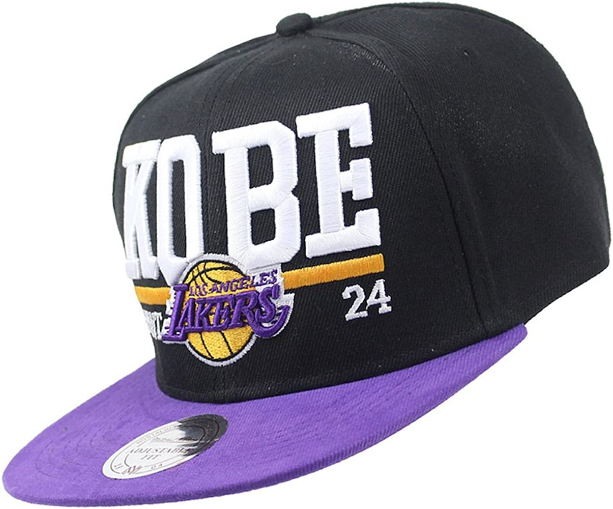 EASTVAPS - Gorra de Baloncesto Los Angeles Lakers Kobe: Amazon.es ...