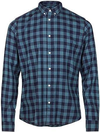 Solid Garret - Camisa para Hombre Azul (Insignia B 1991) XL: Amazon.es: Ropa y accesorios
