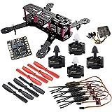 Hobbypower 250 mm Quadcopter Frame Kit + Emax MT2204 2300KV Motor + Simonk 12A ESC + CC3D Flight Controller + 5045 Propeller