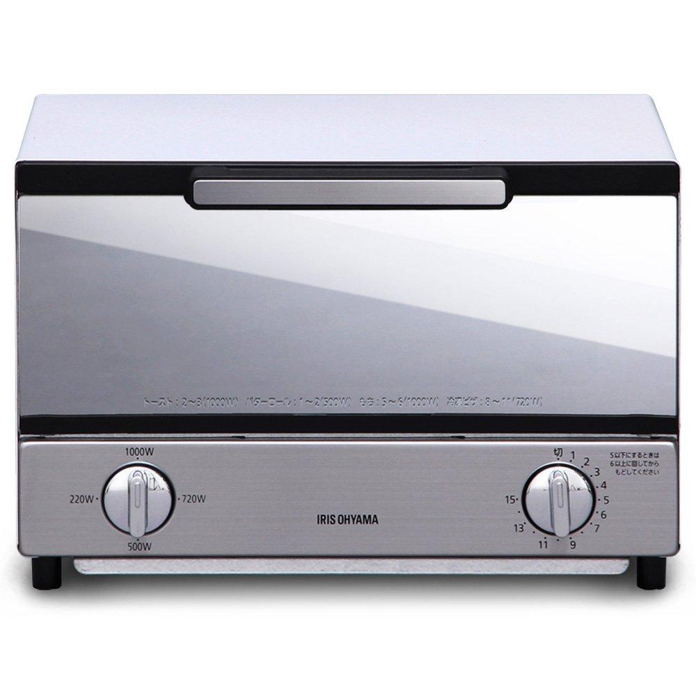 IRIS OHYAMA Mirror oven toaster (Horizontal type) MOT-011