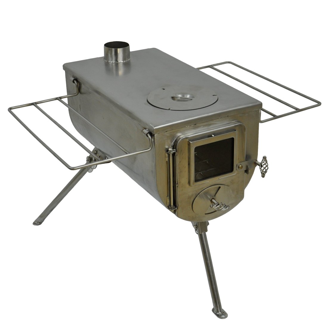 Amazon.com  Winnerwell Woodlander Cook Wood Tent Stove  Sports u0026 Outdoors  sc 1 st  Amazon.com & Amazon.com : Winnerwell Woodlander Cook Wood Tent Stove : Sports ...