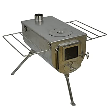 Winnerwell Woodlander Cook Wood Tent Stove  sc 1 st  Amazon.com & Amazon.com : Winnerwell Woodlander Cook Wood Tent Stove : Sports ...