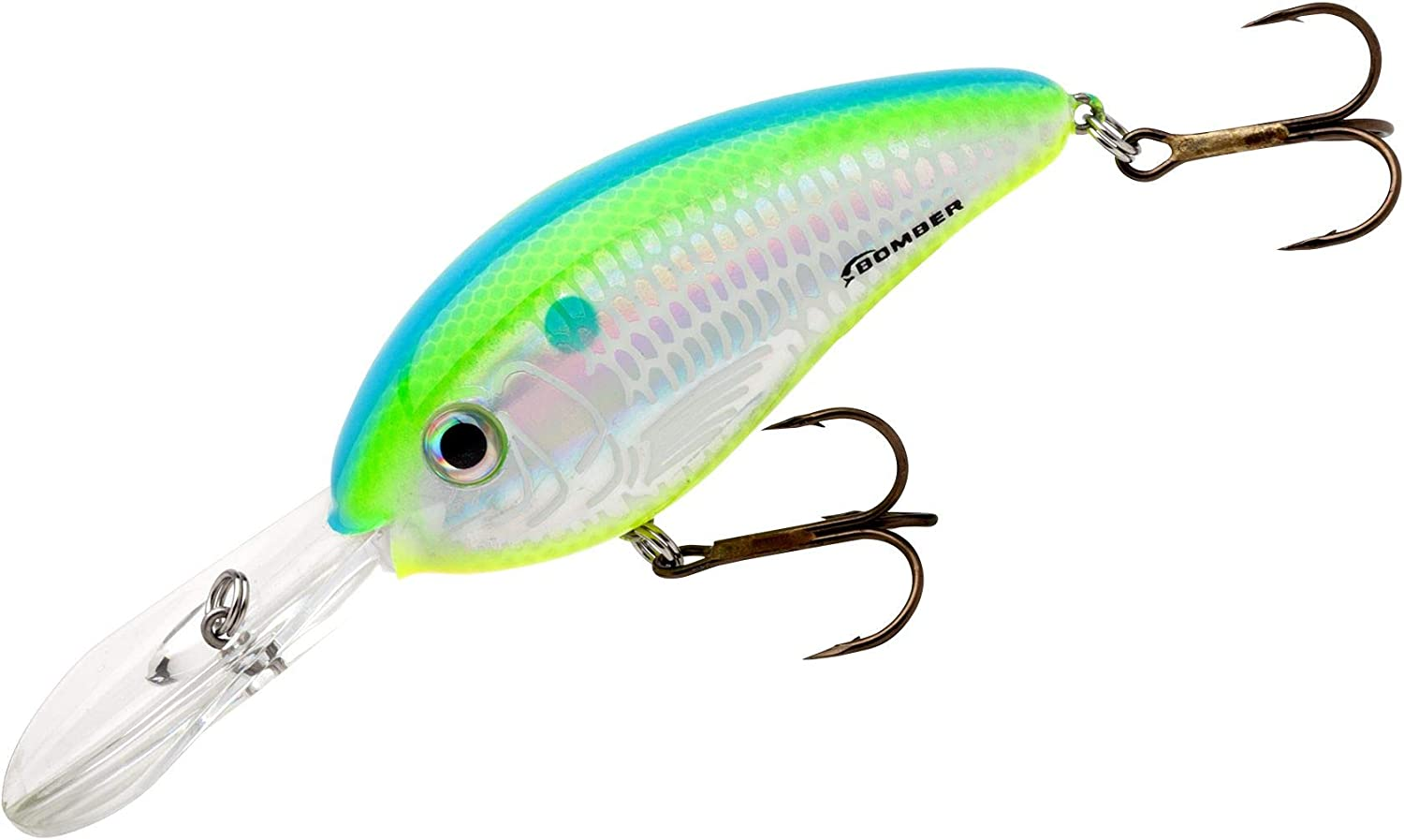 Bomber Lures Fat Free Shad Crankbait Bass Fishing Lure