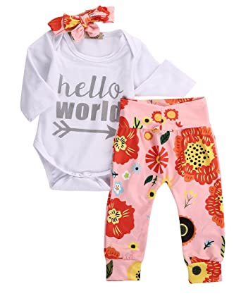 Outfits & Sets Baby Girls Top And Trousers Set
