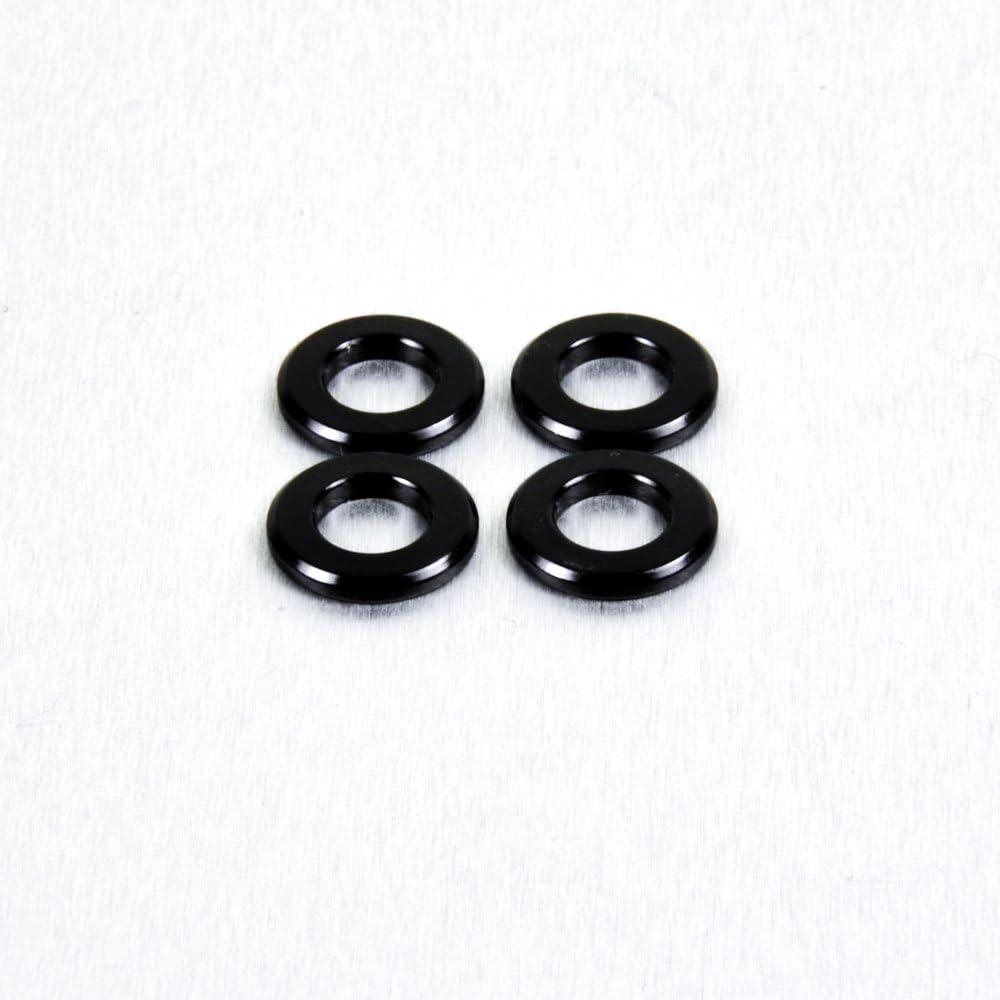 Arandela M6 de aluminio/negro