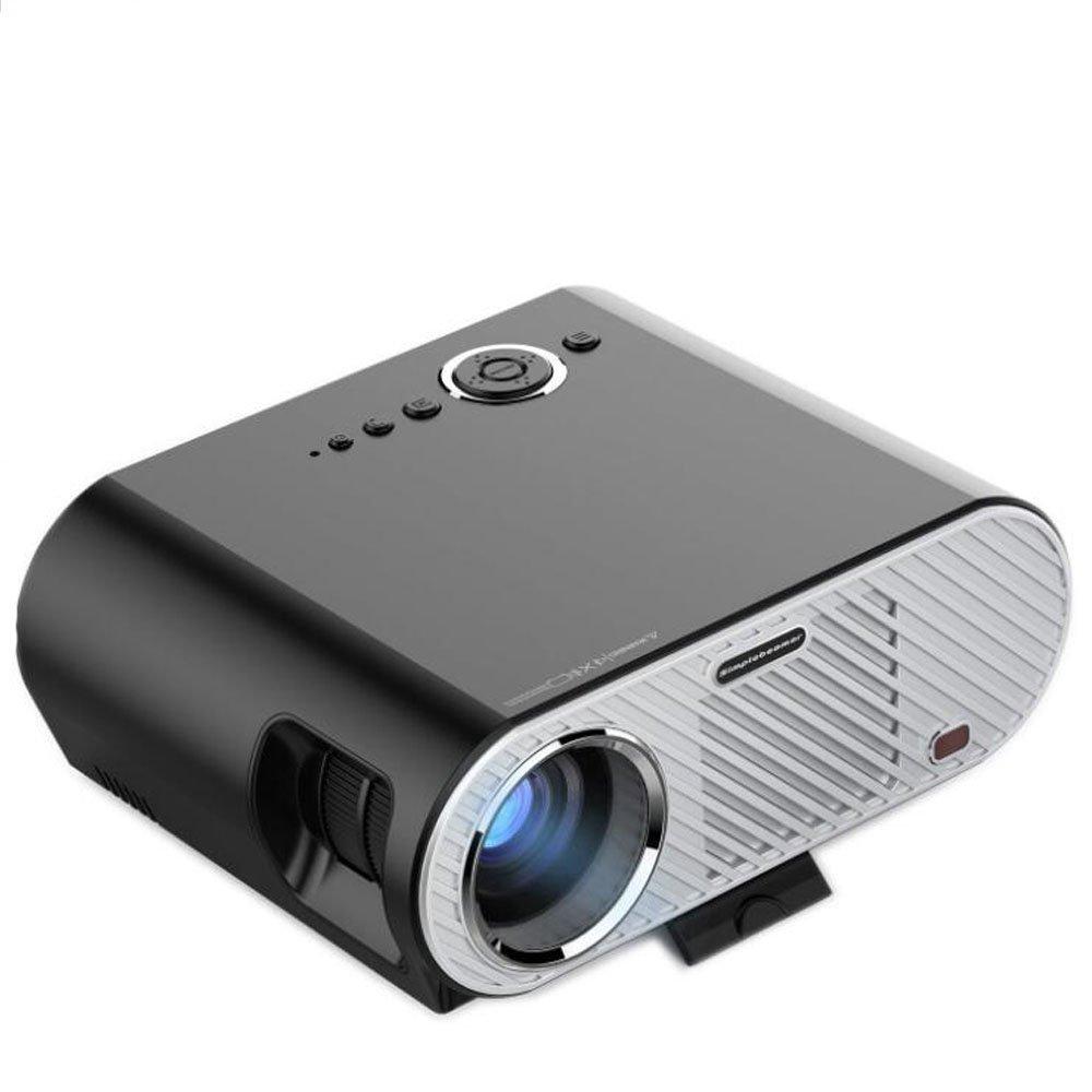 ビデオプロジェクター、3500ルーメン 3 D DLP プロジェクター 1280 X 1080 フル HD をサポートします。   B07FVLQ2SF