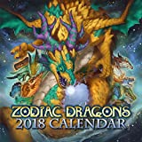 2018 Zodiac Dragons Fantasy Wall Calendar Limited Edition