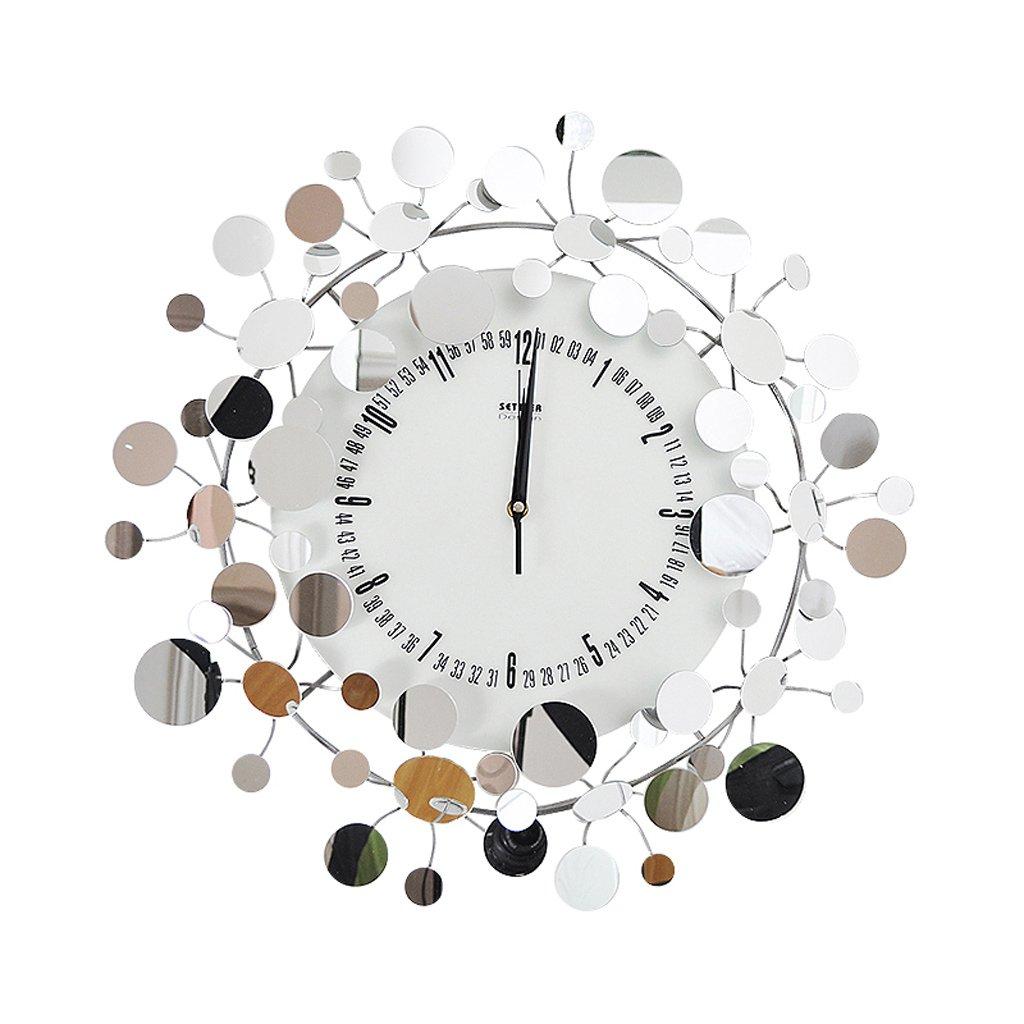 ウォールクロック、家の壁掛け装飾的な壁時計 20インチ(50cm)リビングルームのベッドルームの時計、装飾された静かな時計。 B07D6N8NRD
