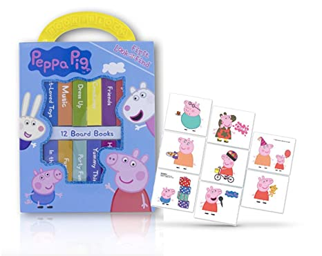 Amazon Com Peppa Pig Books For Toddlers Set Of 12 Board Books