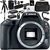Canon EOS Rebel SL2 DSLR Camera (Body Only) 12 Accessory Bundle – Includes 32GB SD Memory Card + 2x Replacement Batteries + MORE - International Version (No Warranty)