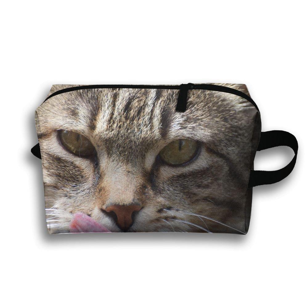 e1ea723c584 GNMB Cat Face Portable Receiving Bag Make-up Travel Bag Multi-function Bag  lovely