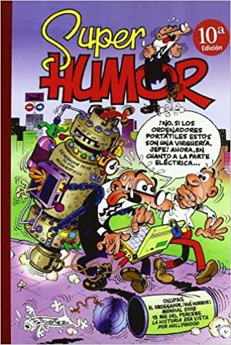 Super Humor Mortadelo Nº 36 (Mortadelo y Filemón, Volume 36): Francisco Ibáñez: 9788466610476: Amazon.com: Books