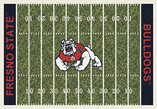 American Floor Mats Cal State Fresno Bulldogs NCAA College Home Field Team Area Rug 5'4
