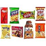 Mixed Variety of Korean Snacks