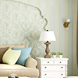 Thick non-woven fabric coining AB continental wallpapers