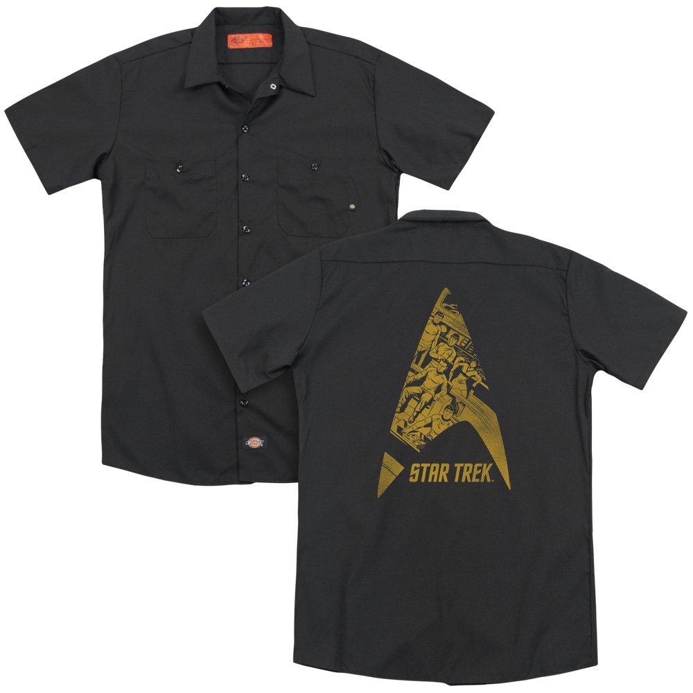 Star Trek Delta Crew Adult Work Shirt