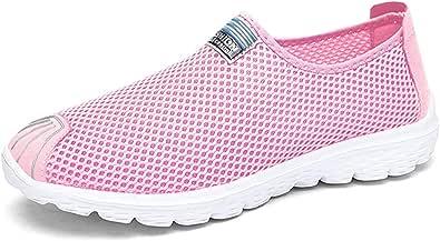 Zapatos de Caminata para Mujer Textil Textil Slip en Zapatillas de Moda