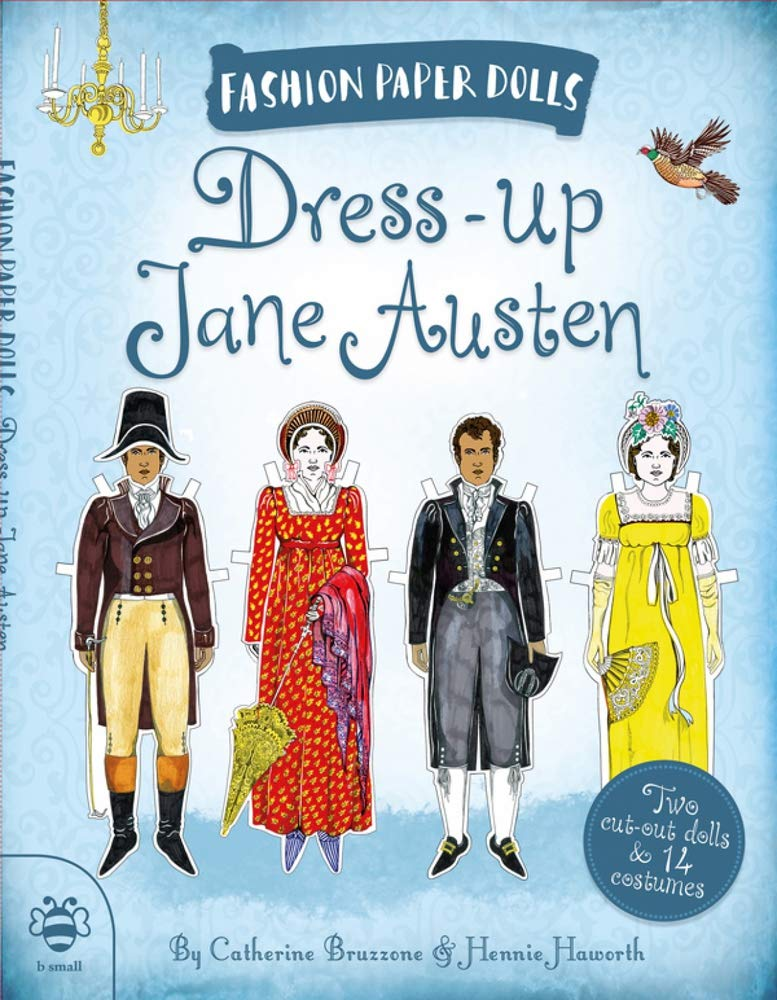 Dress Up Jane Austen  Discover History Through Fashion  Fashion Paper Dolls