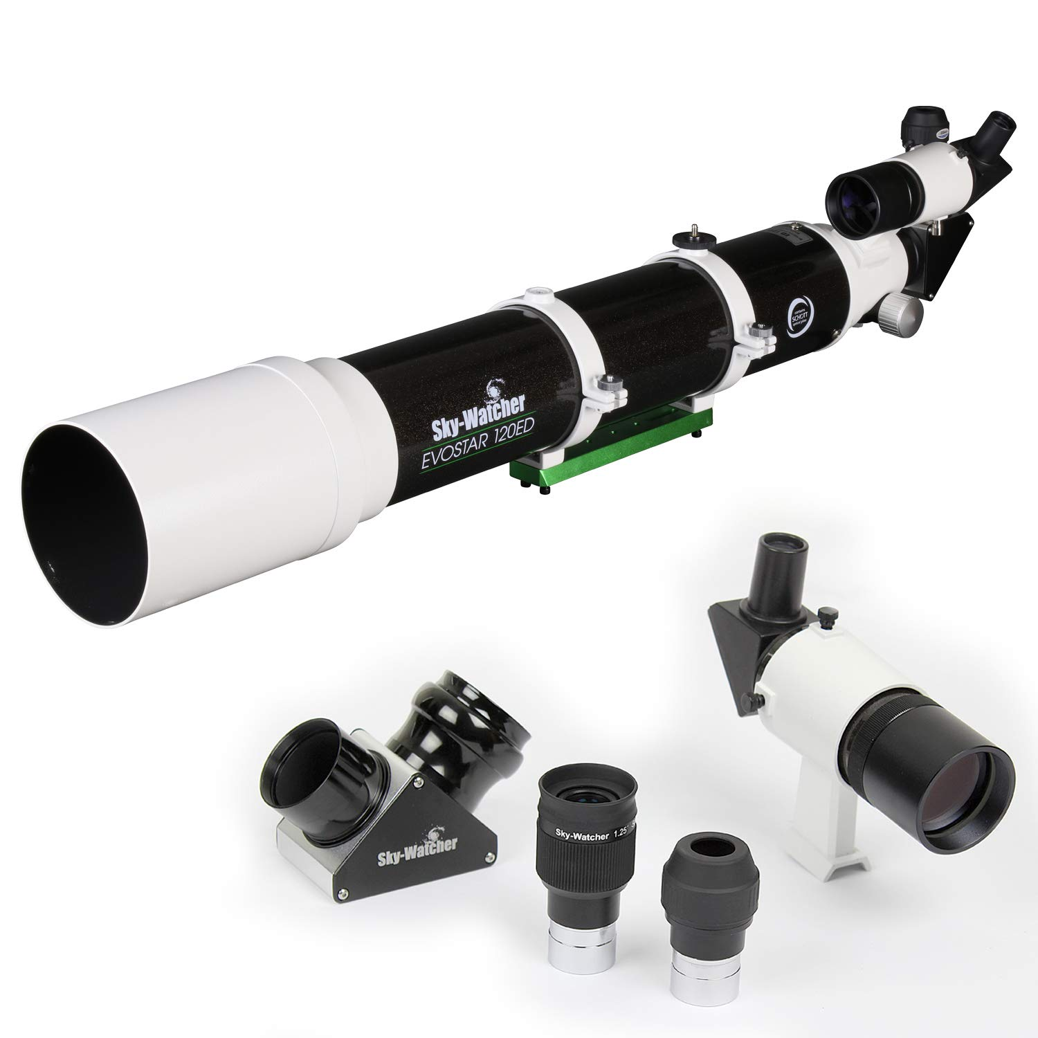 Sky-Watcher EvoStar 120 APO Doublet Refractor – Compact and Portable Optical Tube for Affordable Astrophotography and Visual Astronomy
