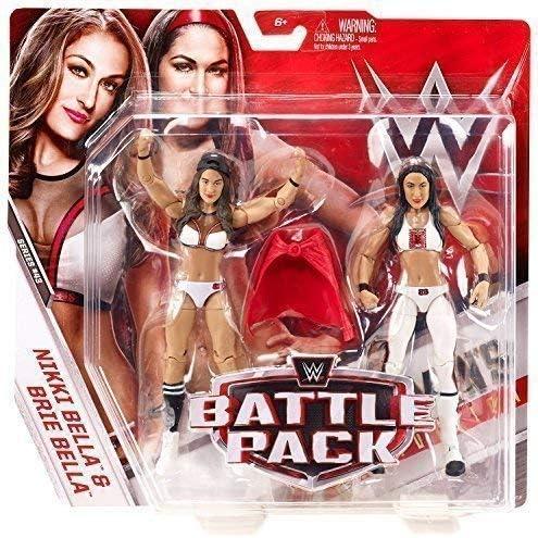 Desconocido WWE Pack de Lucha Serie 43 Figura de Acción - Brie & Nikki Bella (la Bella Gemelos): Amazon.es: Juguetes y juegos
