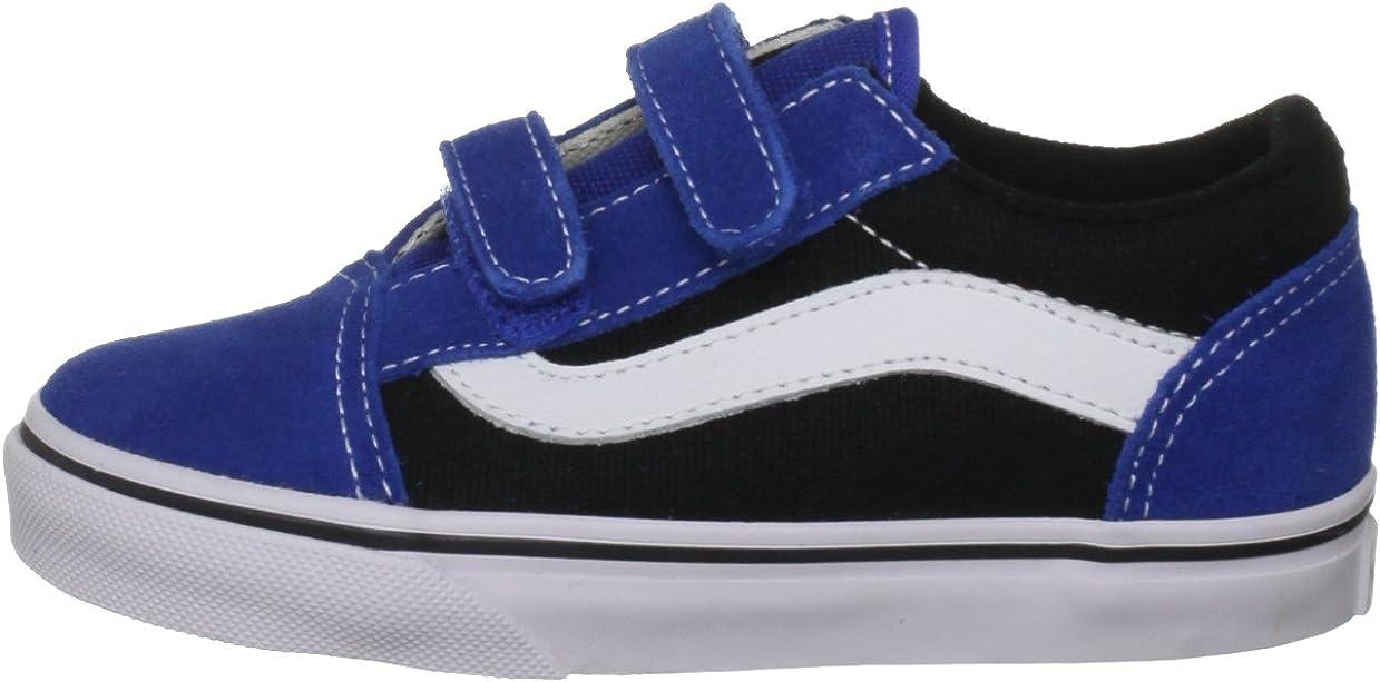 Vans Old Skool V, Baskets mode mixte enfant Bleu (Nautical