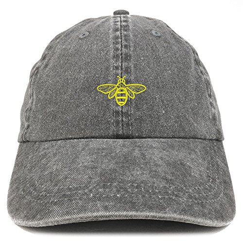 Bee Embroidered Cap-beekeeper gifts