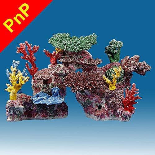 Instant Reef DM046PNP Artificial Coral Reef Aquarium Decor for Saltwater Fish, Marine Fish Tanks and Freshwater Fish Aquariums by Instant Reef