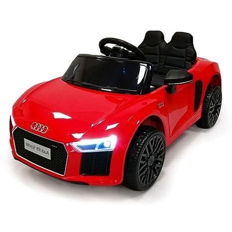 3569566d3d Auto Macchina Elettrica Audi R8 Spyder 12V Per Bambini Originale 2 Posti 2  Motori Con Radiocomando