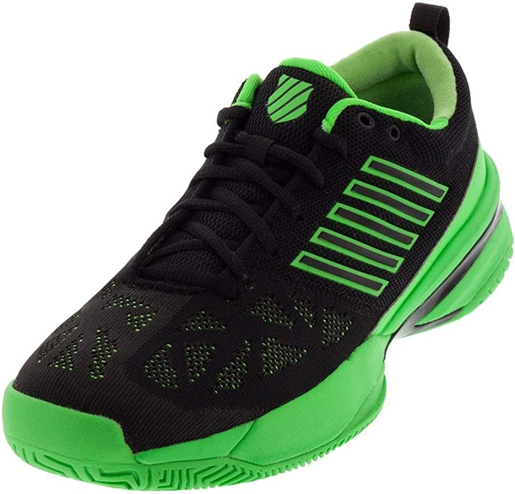 Knitshot Tennis Shoe (Neon Lime