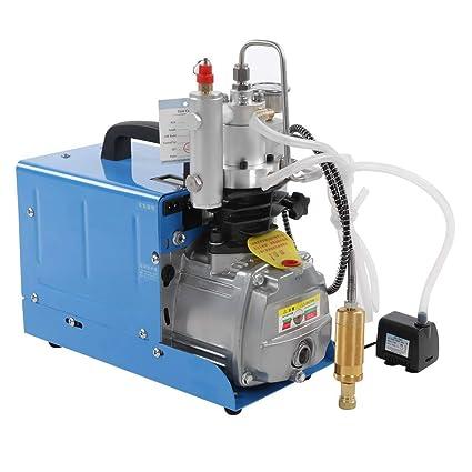 Compresor de Aire, Inflador Neumaticos Bomba de Aire Portátil 30MPa 220V Alta Presion Electric Air