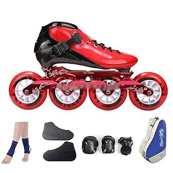 Zapatos De Patinaje De Velocidad De Fibra De Carbono Zapatos De Carreras De Adultos Profesionales De