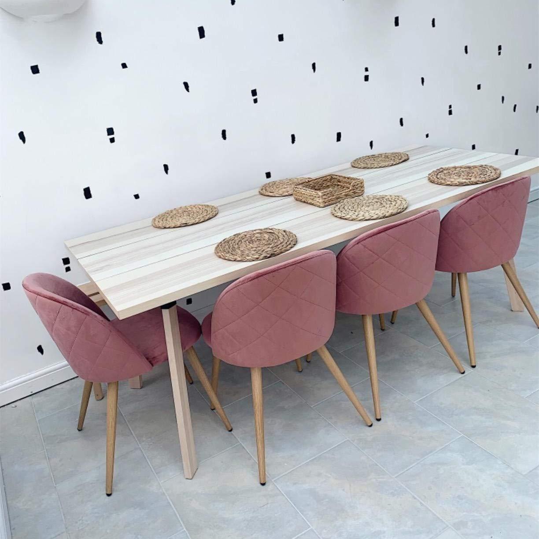 Amazon.com: Sillas de comedor de madera maciza con asiento ...