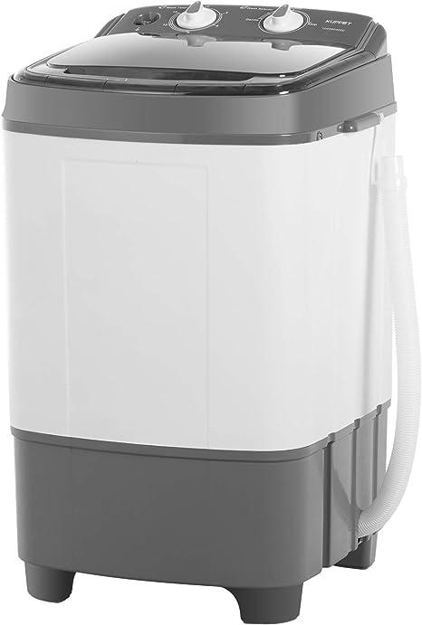 Mini lavadora portátil KUPPET para ropa compacta, pequeña lavadora ...