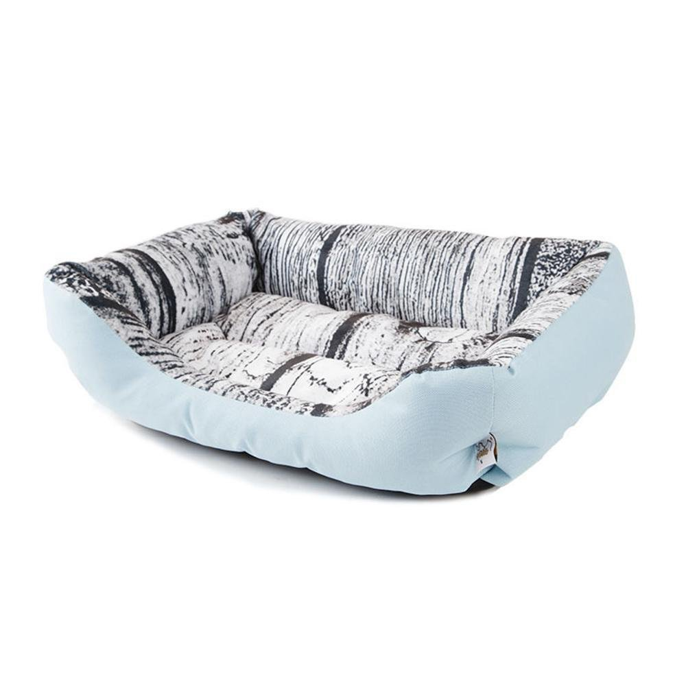 B 3545cmYunYilian Pet Bolster Dog Bed Comfort Pet Litter Dog Cushion cat nest (color   H, Size   35  45cm)