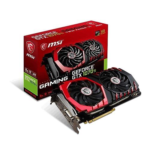 MSI GeForce GTX 1070 Ti GAMING 8G Tarjeta Gráfica GAMING
