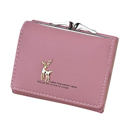 0d0c31fa51 Amazon.com: Barlingrock Coin Purse Pouch Bag for Credit Card, ID Card,  Keys, Headset, Lipstick Mini Women Wallets Short Simple Mini Coin Purse  Card Holder ...