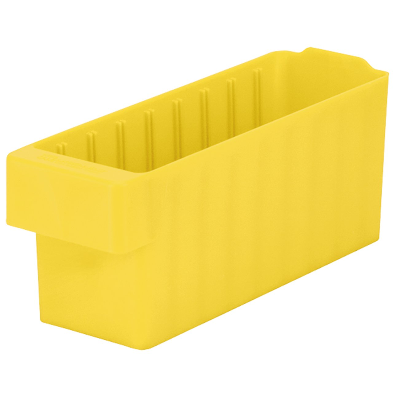 Akro-Mils 31148 17-5/8-Inch L by 3-3/4-Inch W by 4-5/8-Inch H, AkroDrawer Plastic Storage Drawer, Yellow, Case of 6