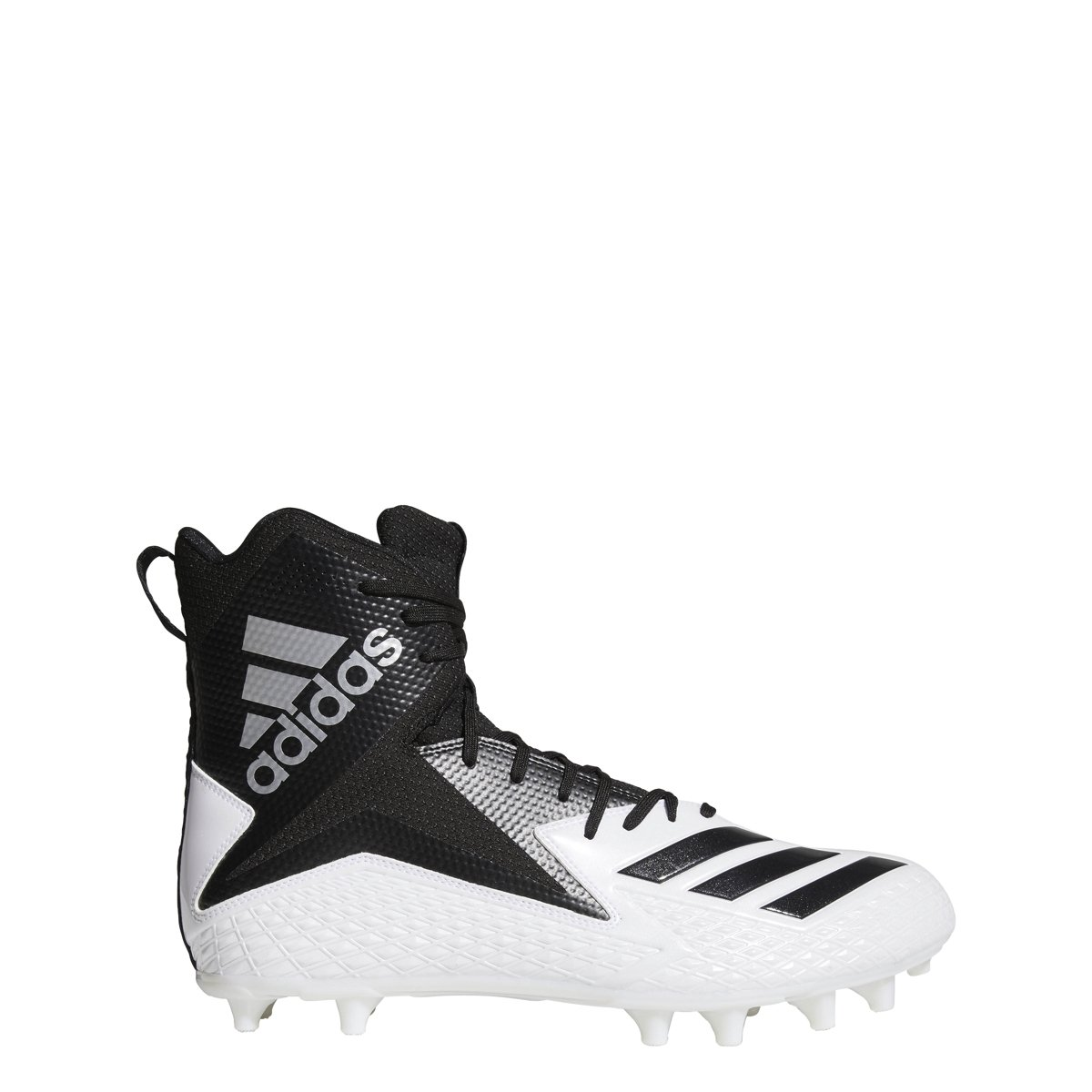 adidas Freak High Wide Cleat Men's Football B07BHGBYX9 17 D(M) US|White-core Black