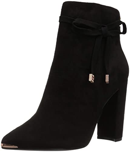 18f04df883e Ted Baker Women s QATENA Ankle Boot Black Suede 5 ...