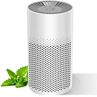 ZHENGXOO Mini-Air Purifier for Home Bedroom Office Desktop Pet Room, Safety Mini Air Cleaner,3-in-1 True HEPA Mini Purifier for Children & Elder