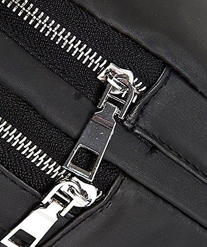 CLOTHES- Wasserdichte Schulter Schräg Kreuz PU Wild Mode Freizeit Reisetasche Mann Europa Und Die USA Brust Tasche eHb1Bz