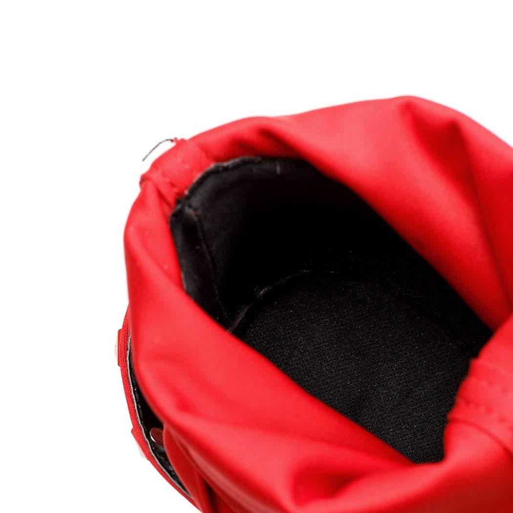 HHYHOME Botas a Media Pierna para Mujer Cintur/ón para Mujer Remache Tejido el/ástico Punta Puntiaguda Tac/ón de Aguja Respirable Resistente al Desgaste Compras Casual Botas de Gran tama/ño